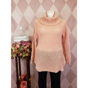 Rue 21 | Pink Cowl Neck Sweater